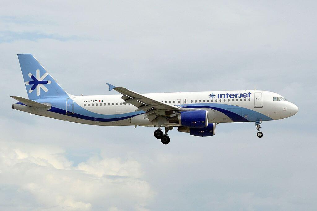 Interjet XA BAV Airbus A320 200 at Miami International Airport