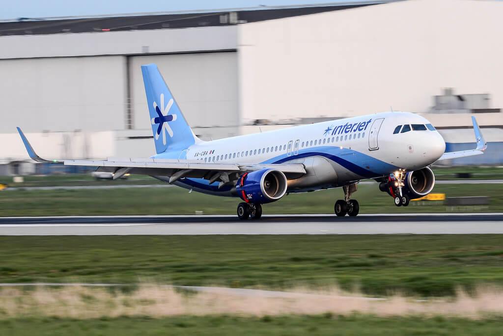 Interjet XA CBA Airbus A320 200