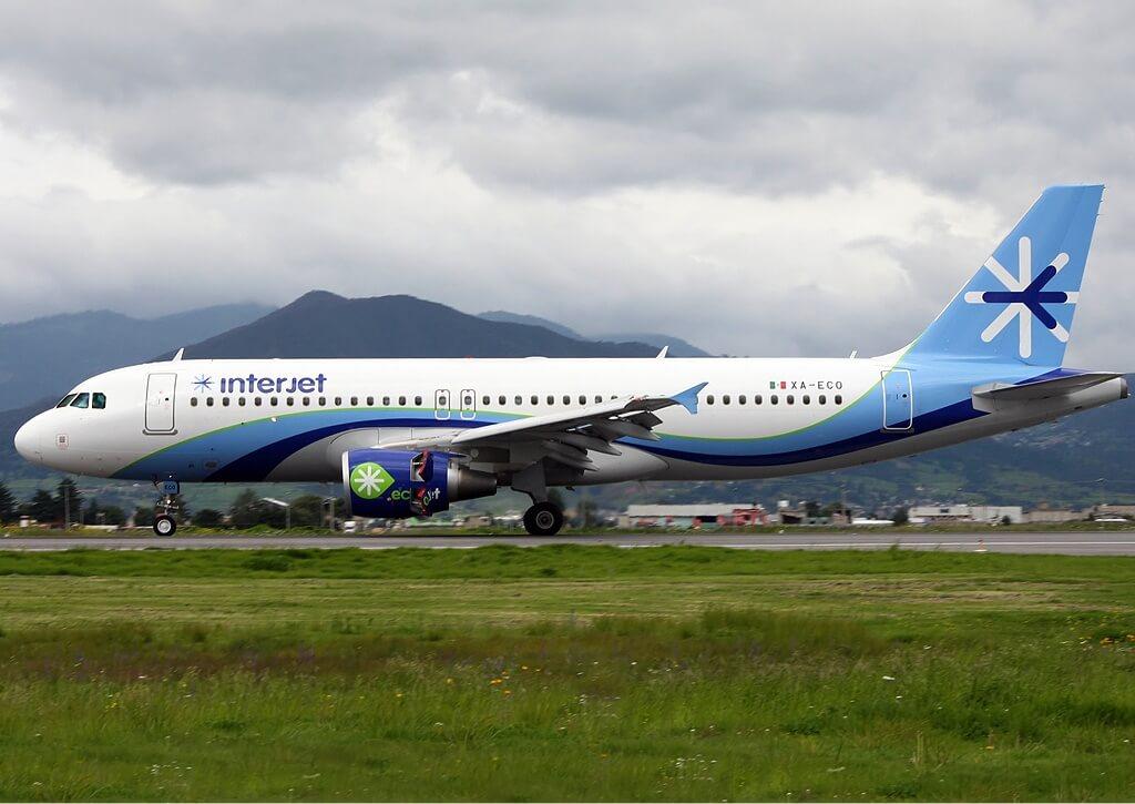Interjet XA ECO Airbus A320 200 at Lic. Adolfo López Mateos International Airport
