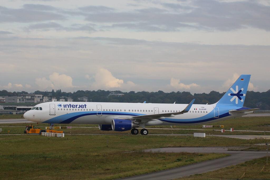 Interjet XA GEO Airbus A321 200