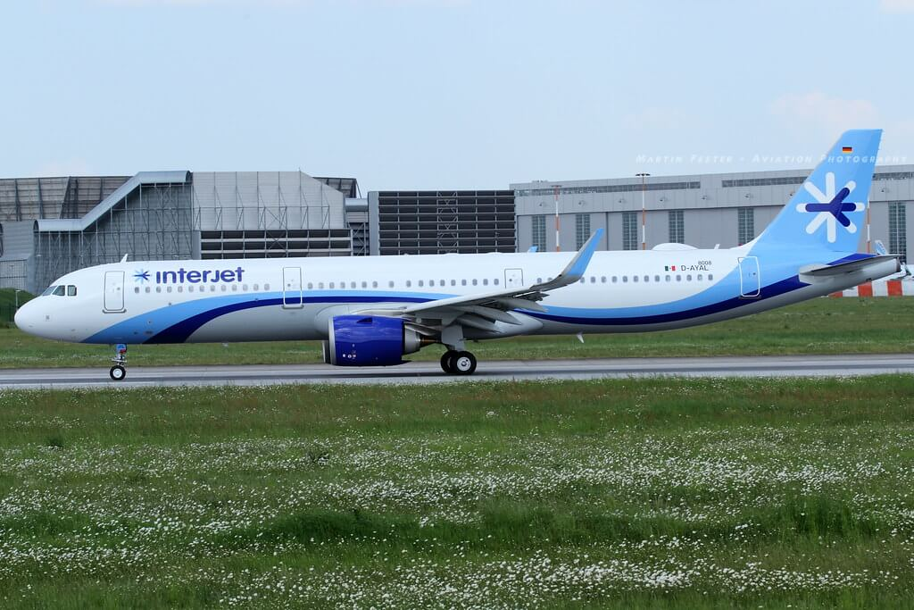 Interjet XA JIL Airbus A321neo