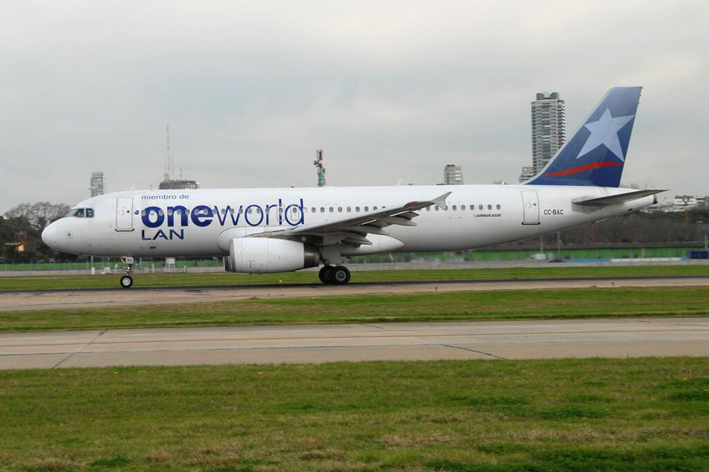 LATAM CC BAC Airbus A320 200