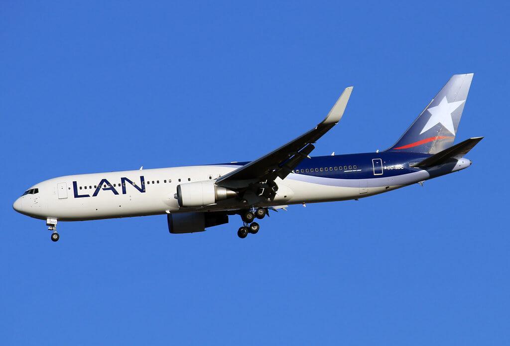 LATAM LAN Airlines Boeing 767 316ERWL CC BDC at IAD
