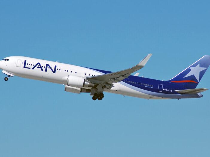 LATAM LAN CC CXC Boeing 767 300ER at Los Angeles International Airport