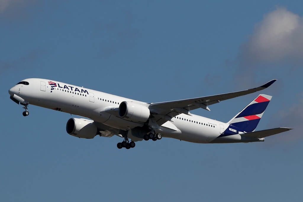 LATAM PR XTF Airbus A350 900
