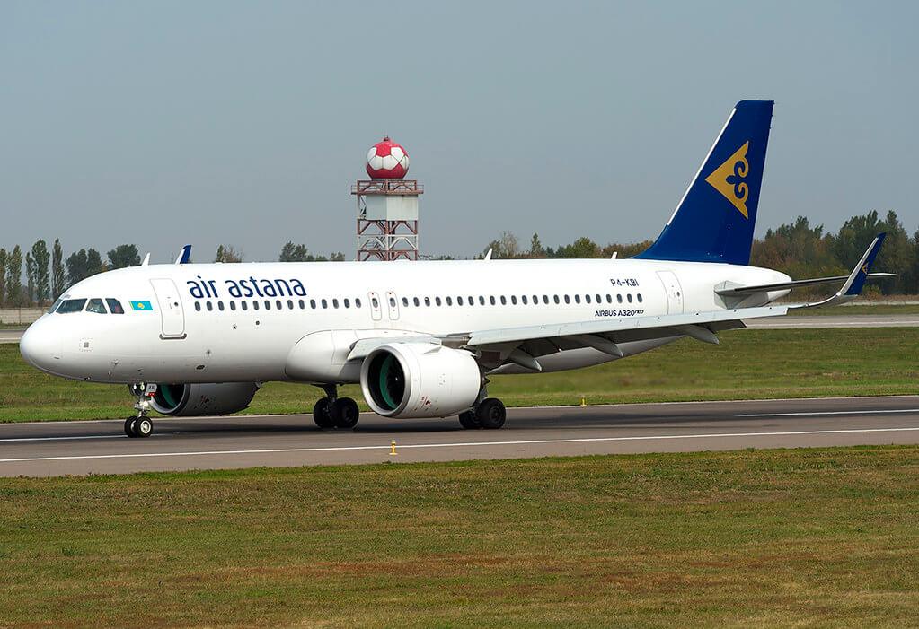 P4 KBI Air Astana Airbus A320 271Neo