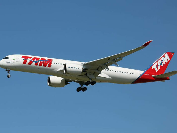 TAM Linhas Aéreas LATAM Airbus A350 941 PR XTA at Madrid Barajas airport