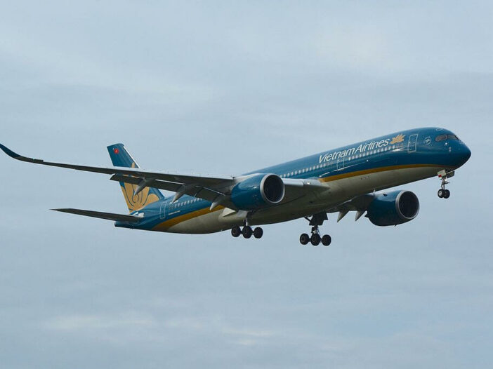 Vietnam Airlines Airbus A350 900 VN A886 at Narita International Airport