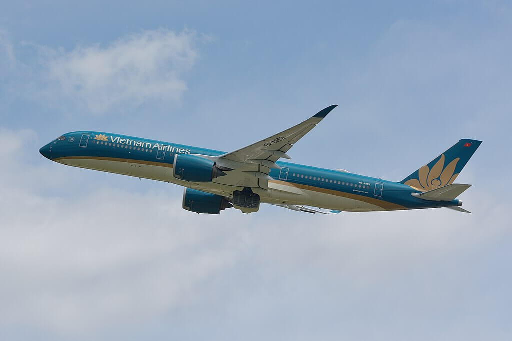 Vietnam Airlines Airbus A350 900 VN A892 at Narita Airport