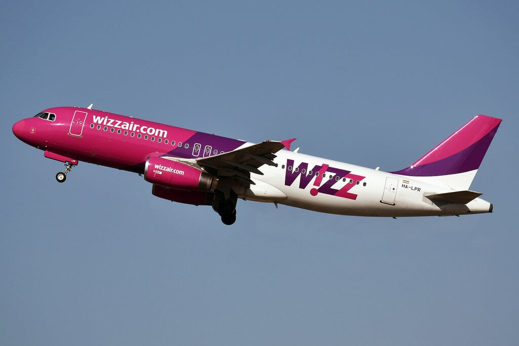 Wizz Air HA LPR Airbus A320 232 at Belgrade Nikola Tesla Airport
