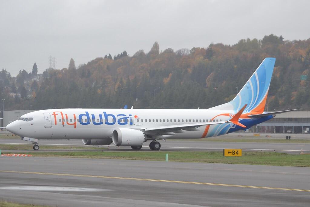 flydubai A6 FMG Boeing 737 MAX 8