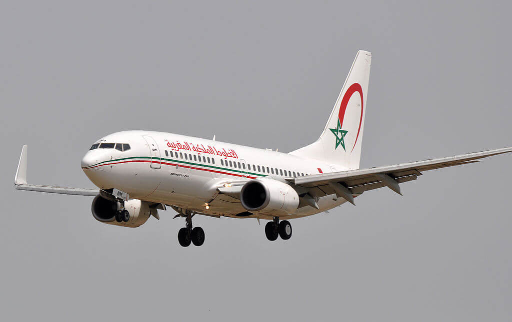 Boeing 737 7B6 CN RNM Royal Air Maroc RAM at Barcelona Airport