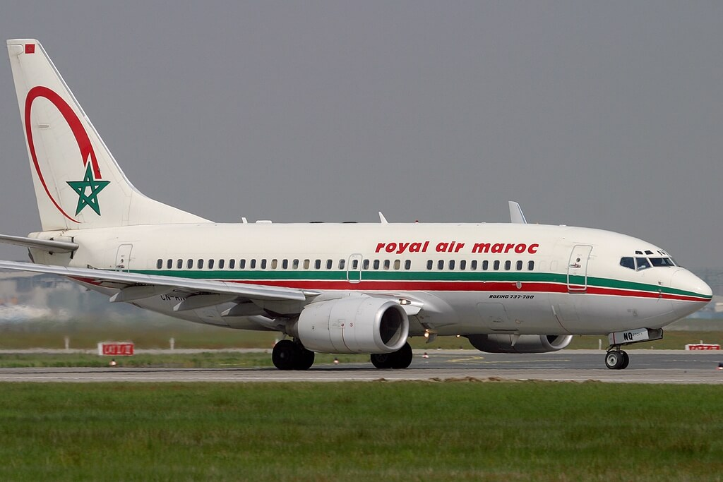 Boeing 737 7B6 Royal Air Maroc RAM CN RNQ at Frankfurt Airport