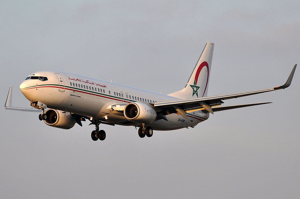Boeing 737 8B6 CN RGM Royal Air Maroc at Barcelona Airport