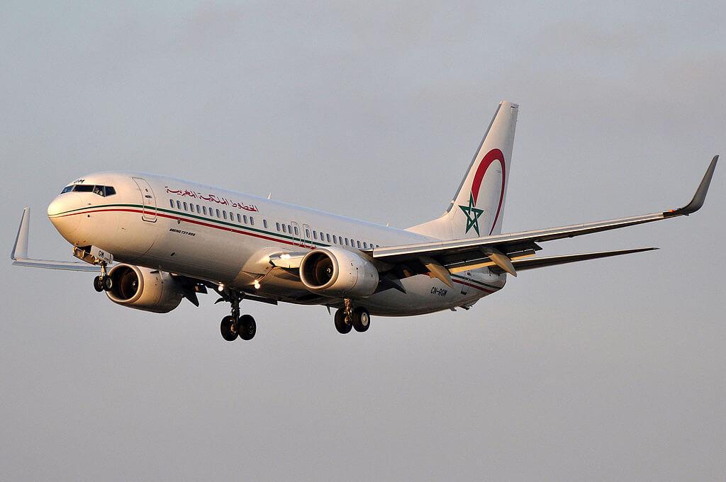 Boeing 737 8B6 CN RGM Royal Air Maroc at Barcelona Airport