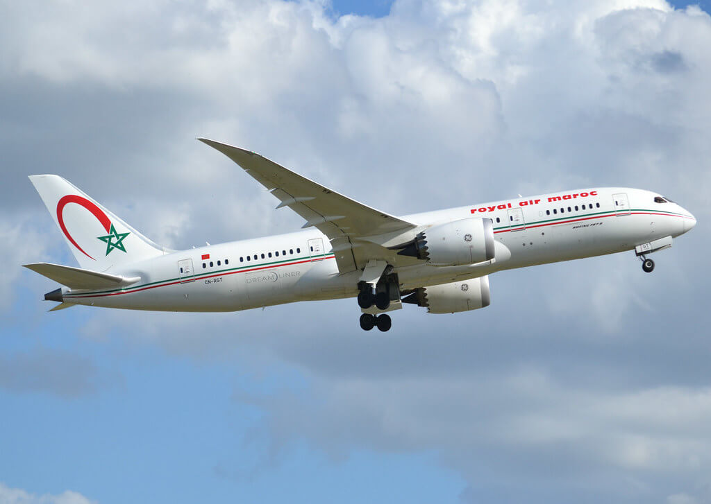 Boeing 787 8 Dreamliner CN RGT Royal Air Maroc RAM at Paris Orly
