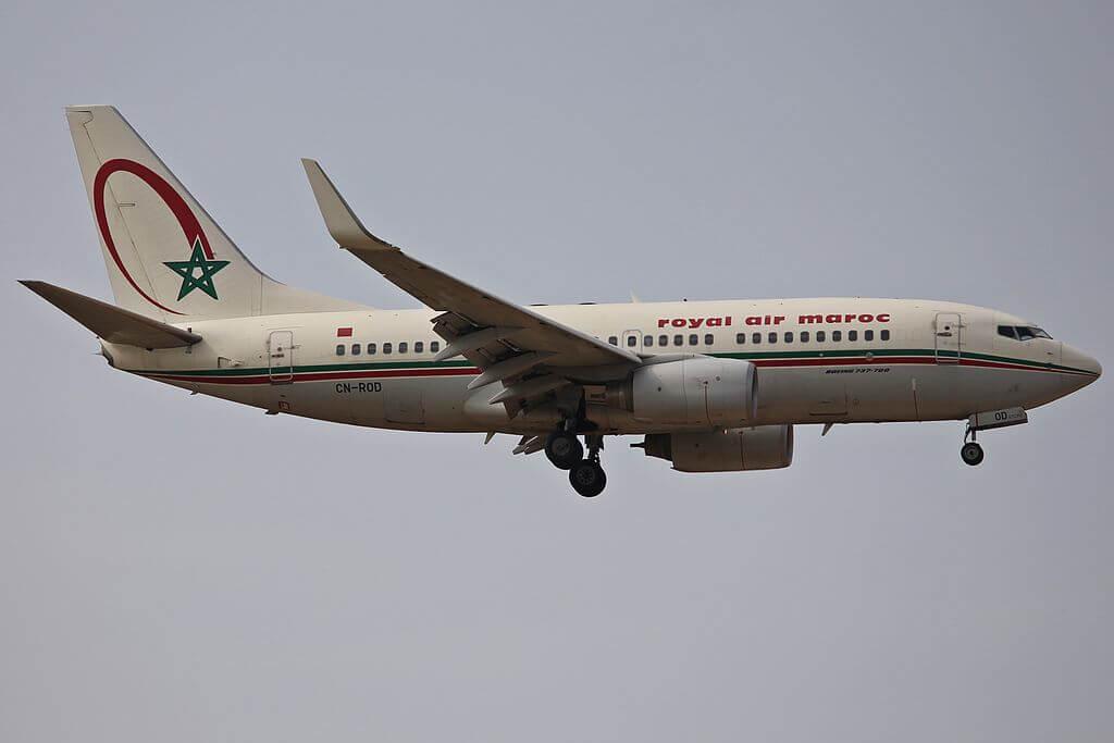 RAM Royal Air Maroc Boeing 737 700 CN ROD at Frankfurt Airport Germany