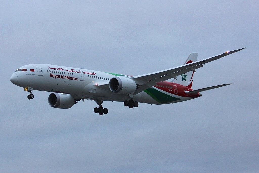 RAM Royal Air Maroc Boeing 787 9 Dreamliner CN RAM at London Heathrow Airport