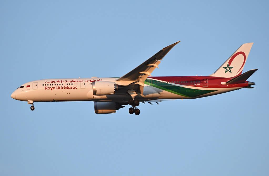 RAM Royal Air Maroc Boeing 787 9 Dreamliner CN RGX at Washington Dulles International Airport