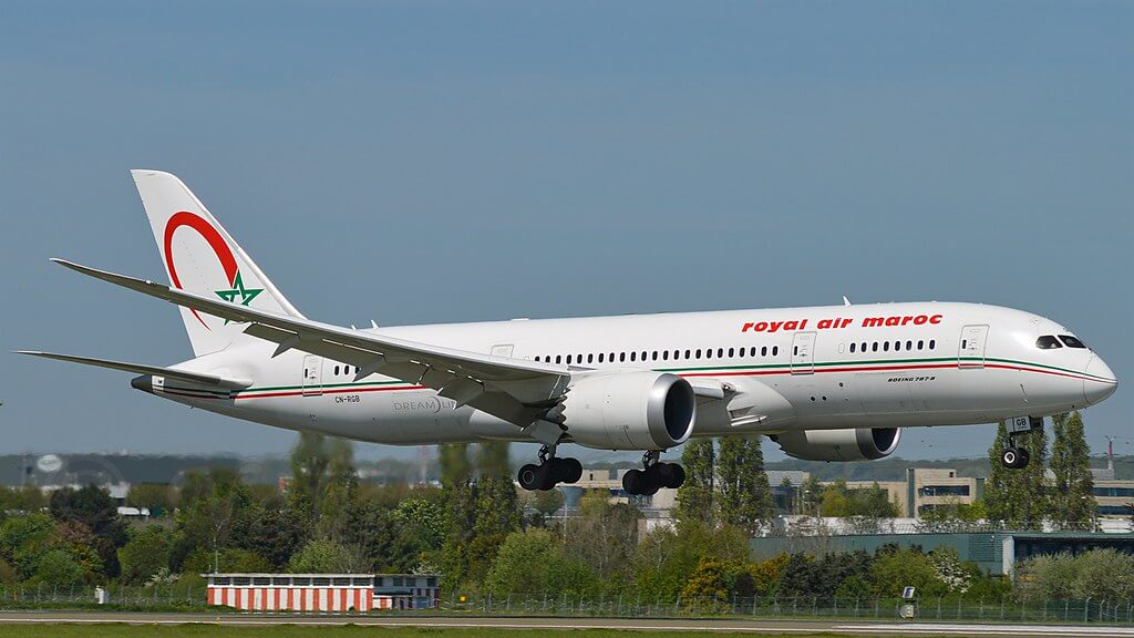 RAM Royal Air Maroc CN RGB Boeing 787 8 Dreamliner at Paris Orly