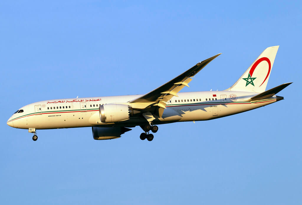 RAM Royal Air Maroc CN RGC Boeing 787 8 Dreamliner at IAD