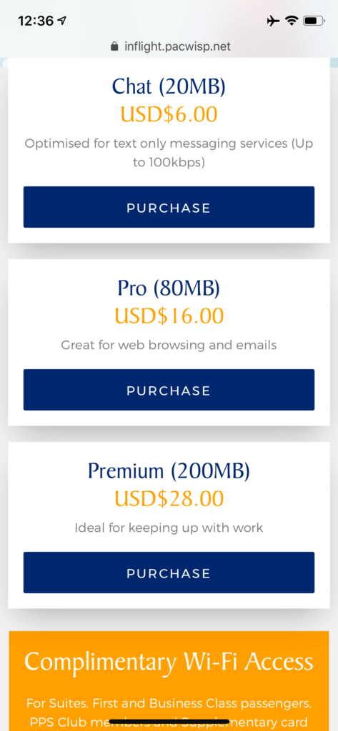 Singapore Airlines Airbus A350 900 Inflight Wi Fi Prices