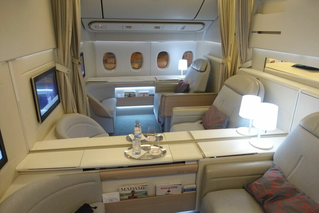 Air France Boeing 777 300ER First Class La Premiere cabin