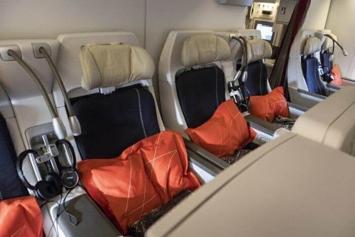 Air France Boeing 777 300ER premium economy seats
