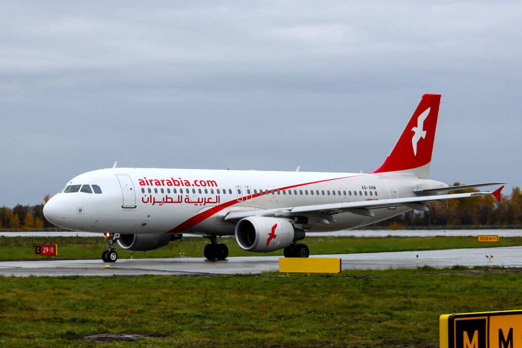A6 ANM Air Arabia Airbus A320 214WL at Kazan International Airport