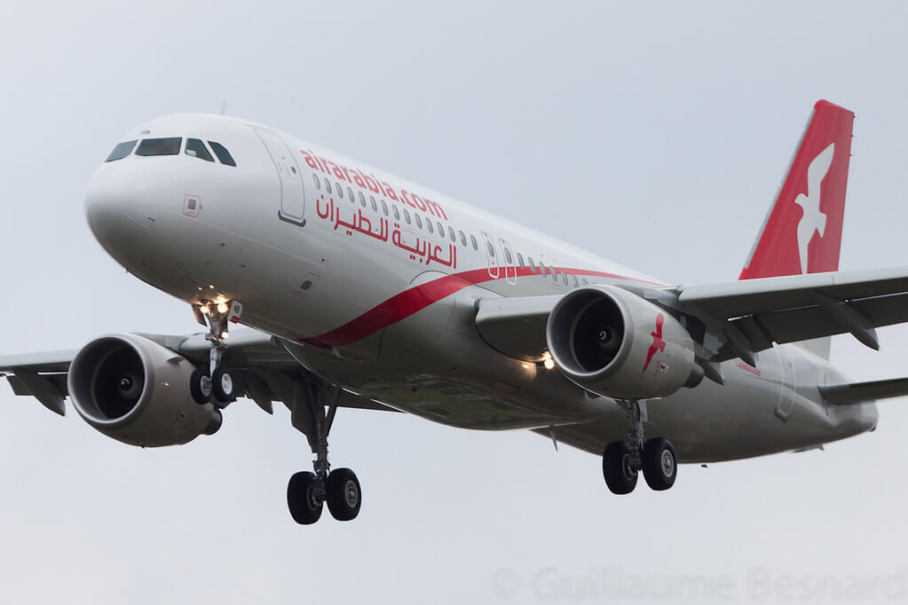 Air Arabia A6 ANB Airbus A320 200 at Toulouse Blagnac