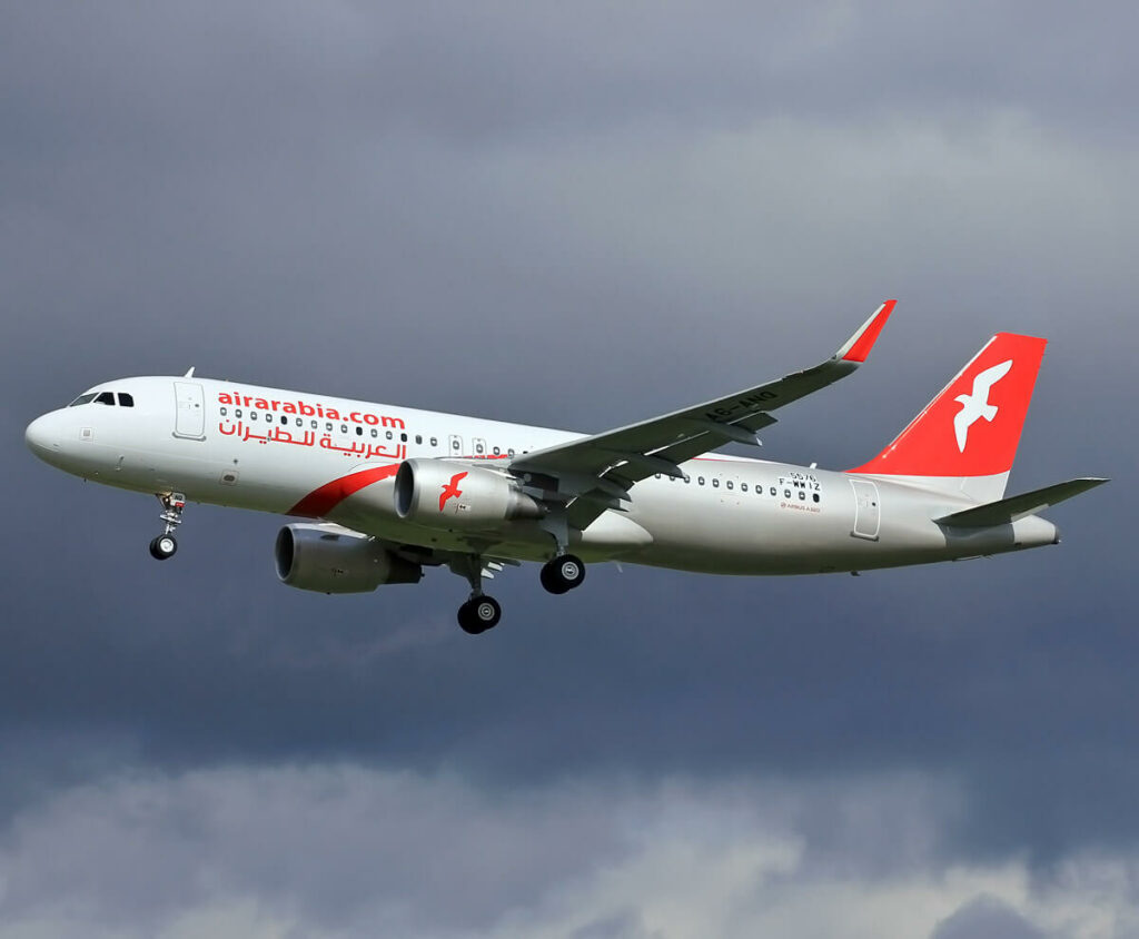 Air Arabia A6 ANQ Airbus A320 214