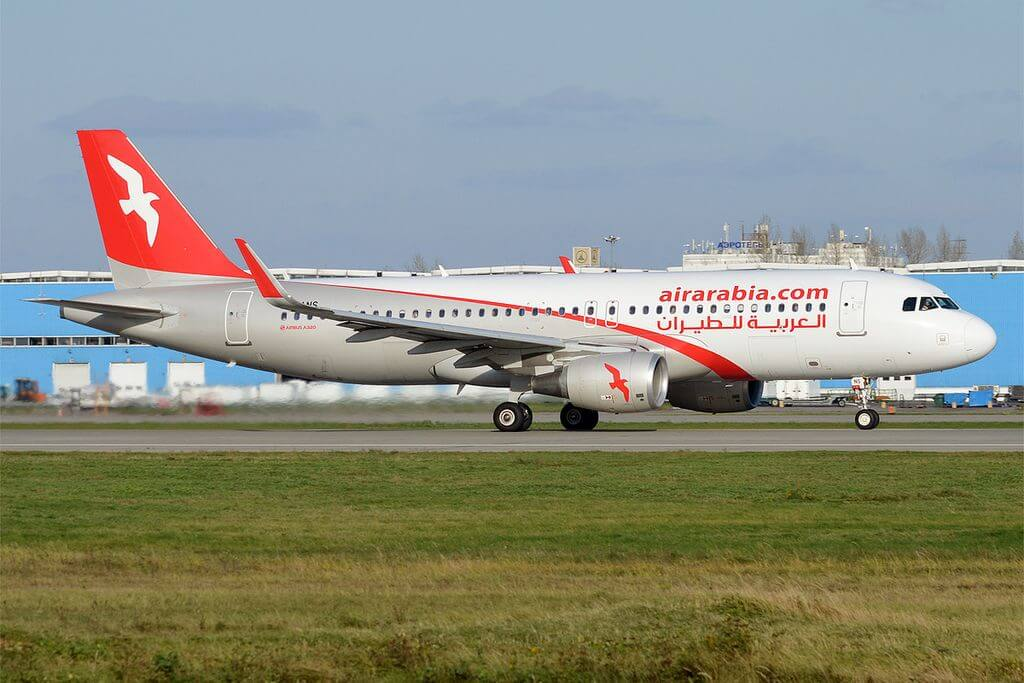 Air Arabia A6 ANS Airbus A320 214 at Domodedovo International Airport