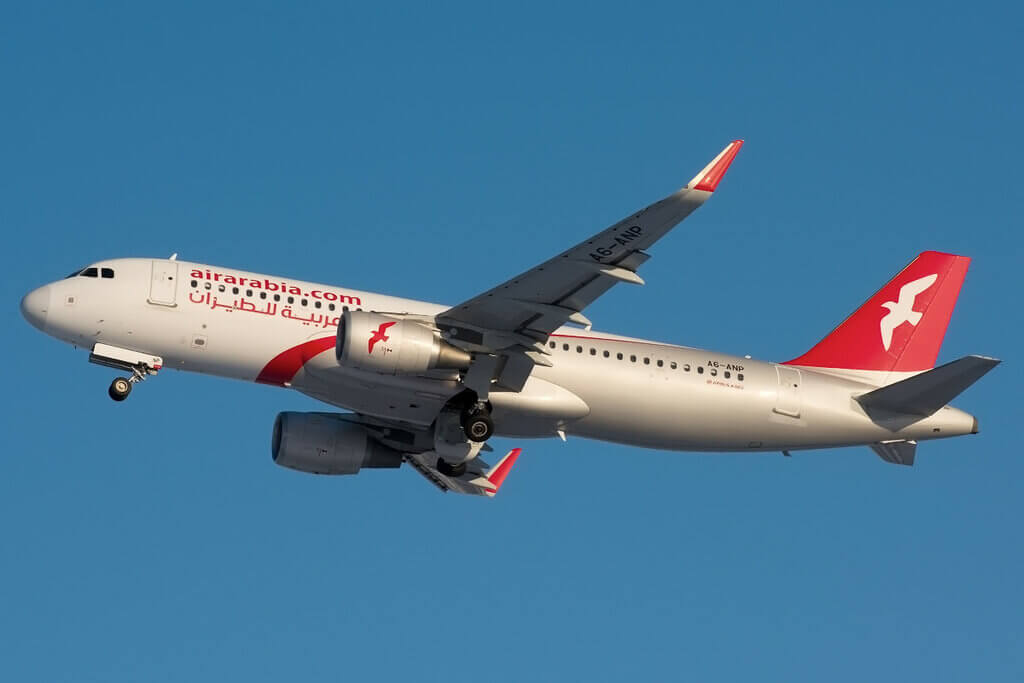 Air Arabia Airbus A320 200 A6 ANP