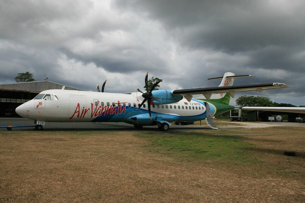 Air Vanuatu ATR 72 500 YJ AV72