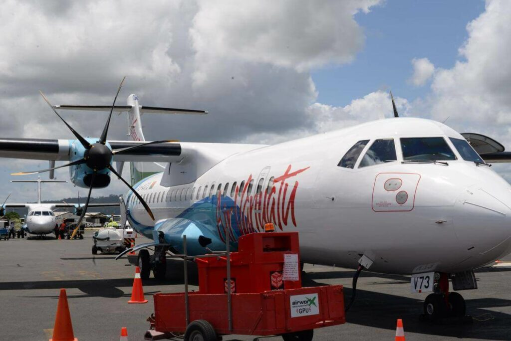 Air Vanuatu Fleet ATR 72 Turboprop Aircraft