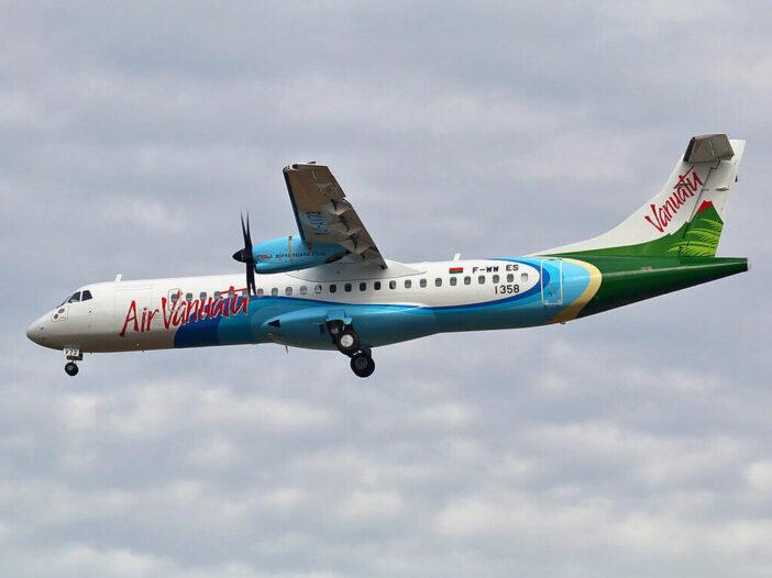 Air Vanutu ATR 72 600 YJ AV73 at Airport Toulouse Blagnac