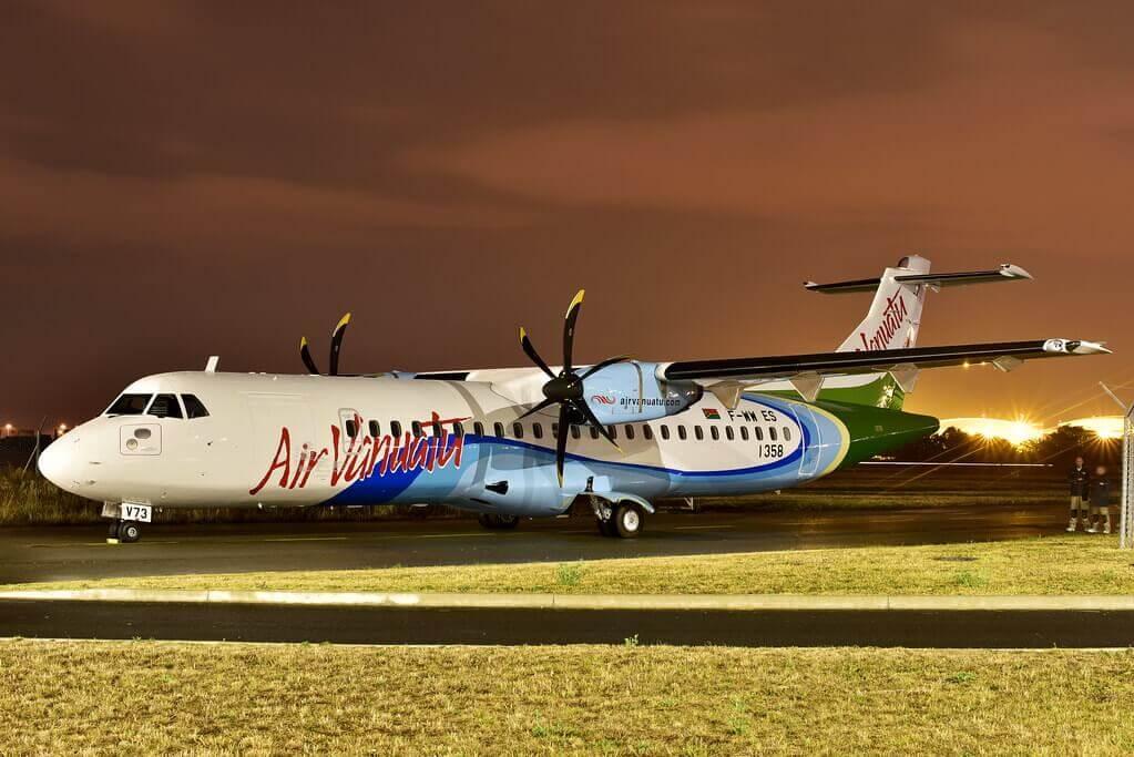 Air Vanutu ATR 72 600 YJ AV73