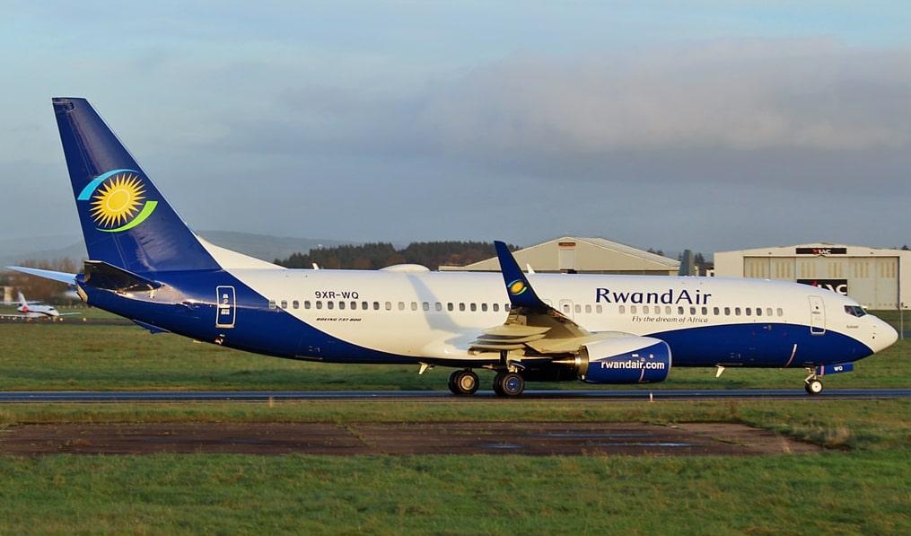 RwandAir 9XR WQ Boeing 737 800 Kalisimbi