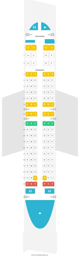 Seat Map and Seating Chart TAAG Angola Airlines Boeing 737 700