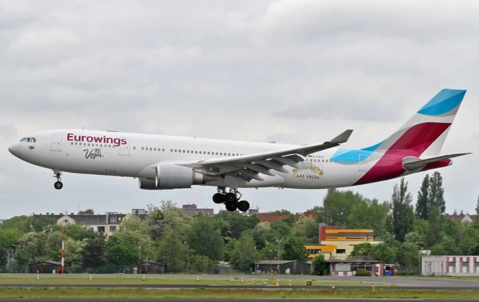 Eurowings Airbus A330 200 D AXGF