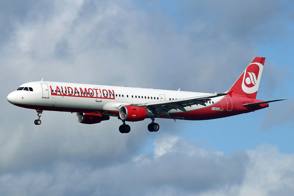 Eurowings Laudamotion D AEUA Airbus A321 211 at Shannon Airport
