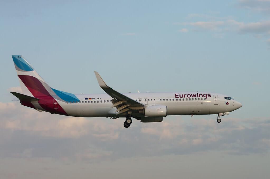 Eurowings TUIfly Boeing 737 800 Reg D ABKN