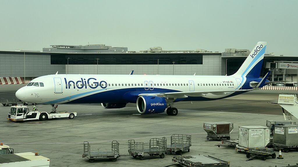 IndiGo Airbus A321neo VT IUD at Abu Dhabi