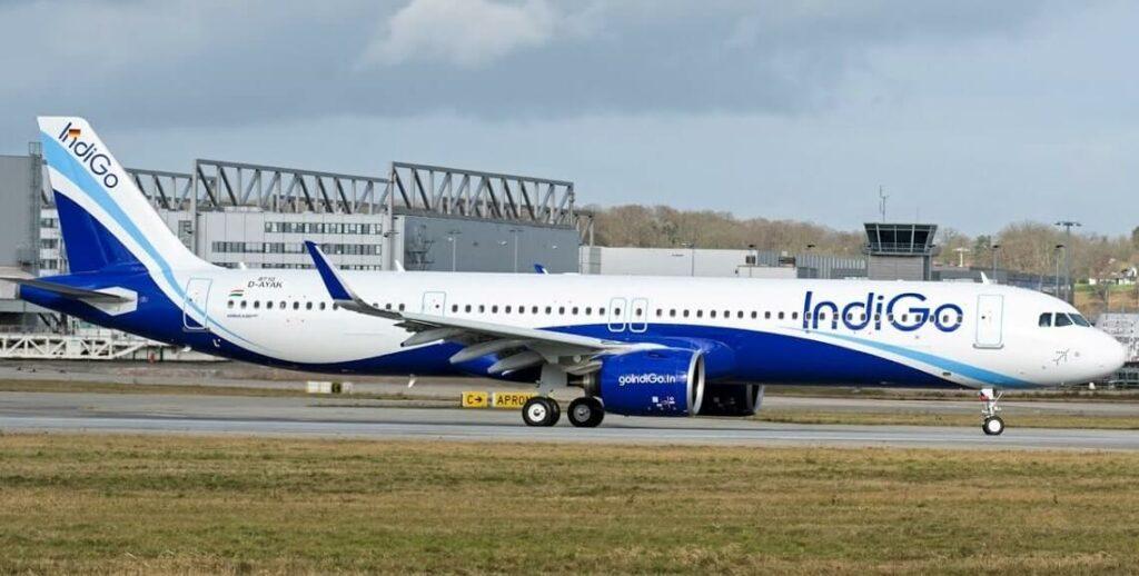 IndiGo VT IUC Airbus A321neo