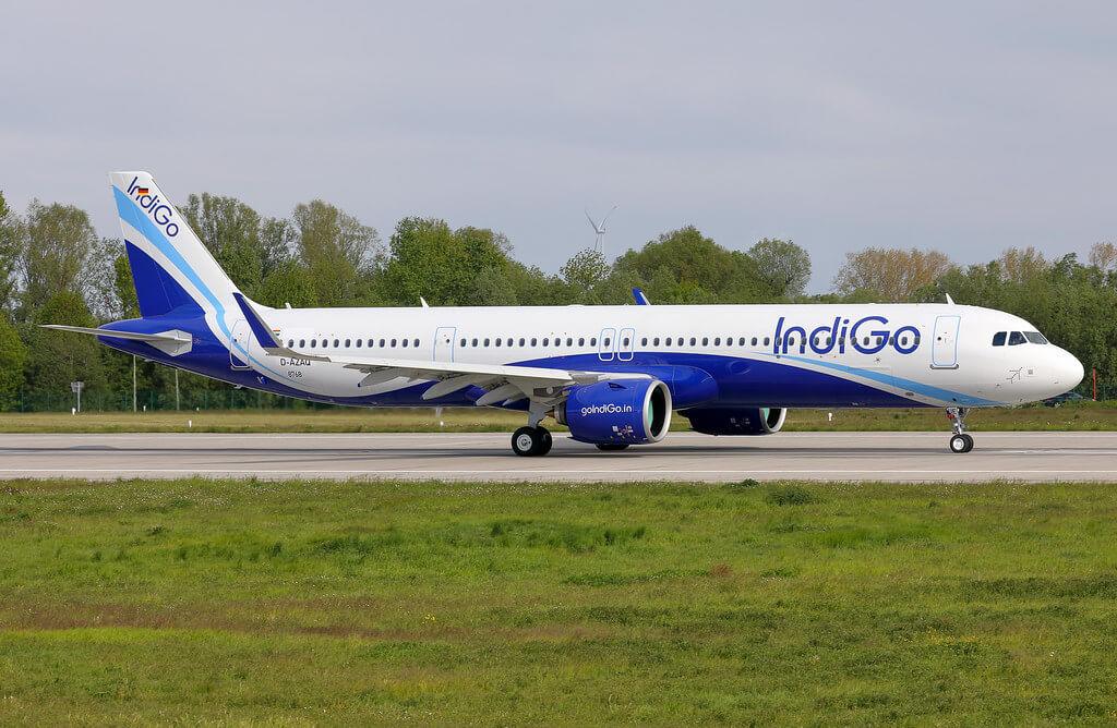 IndiGo VT IUE Airbus A321neo