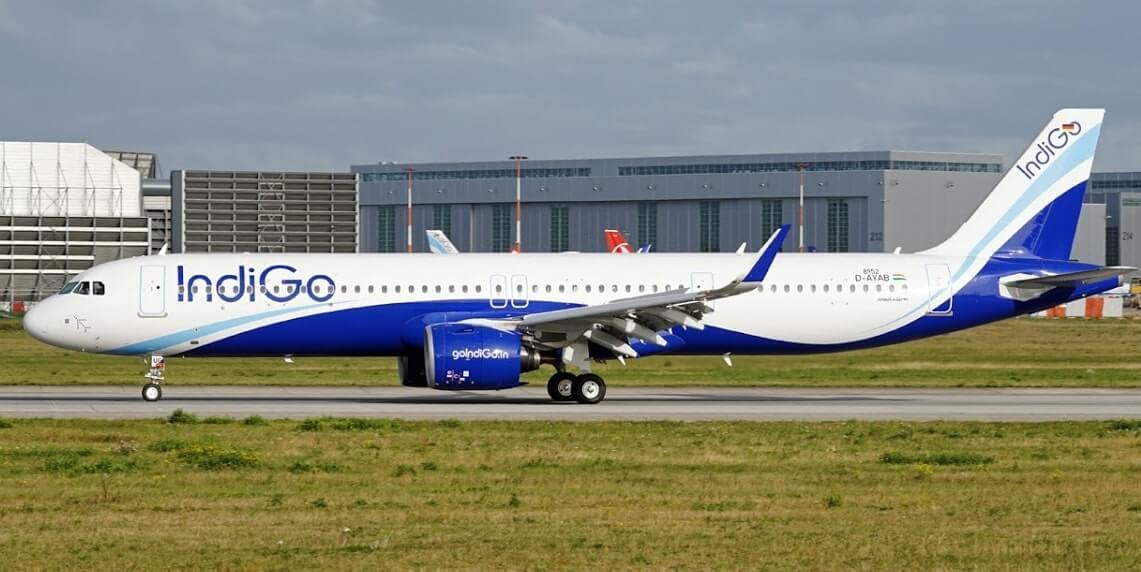 IndiGo VT IUF Airbus A321neo