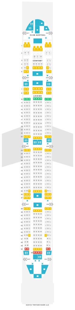 Seat Map and Seating Chart Air Austral Boeing 777 300ER