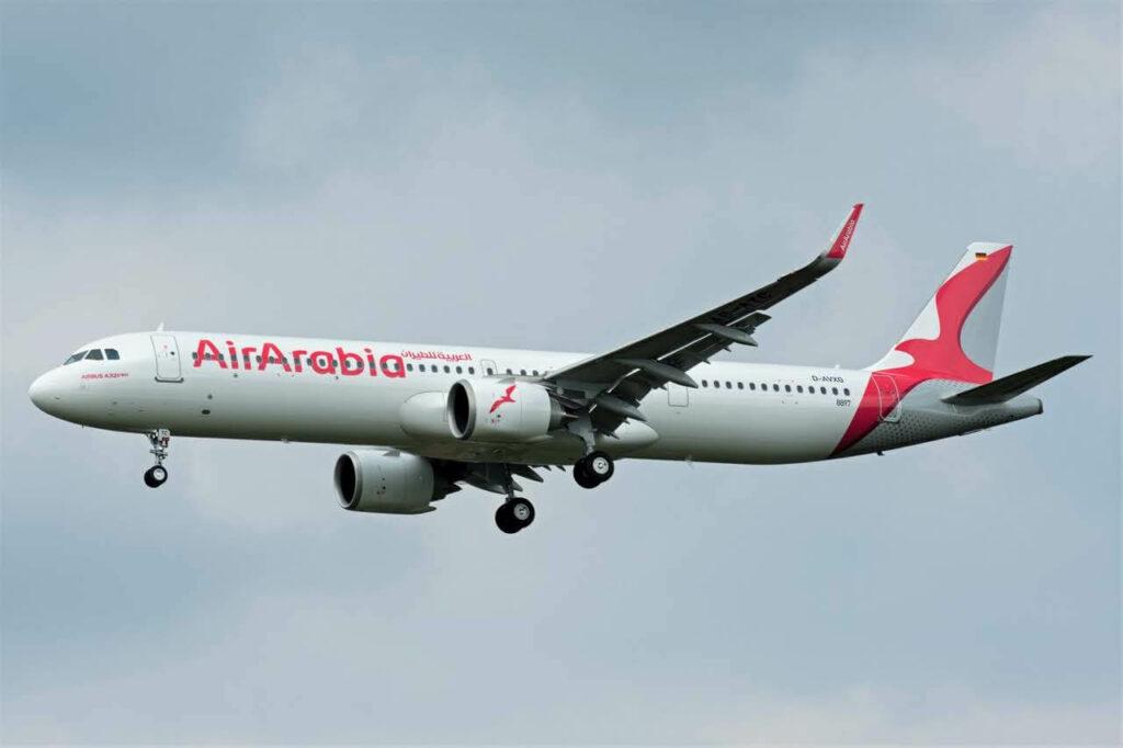Air Arabia A6 ATC Airbus A321 251NXLR