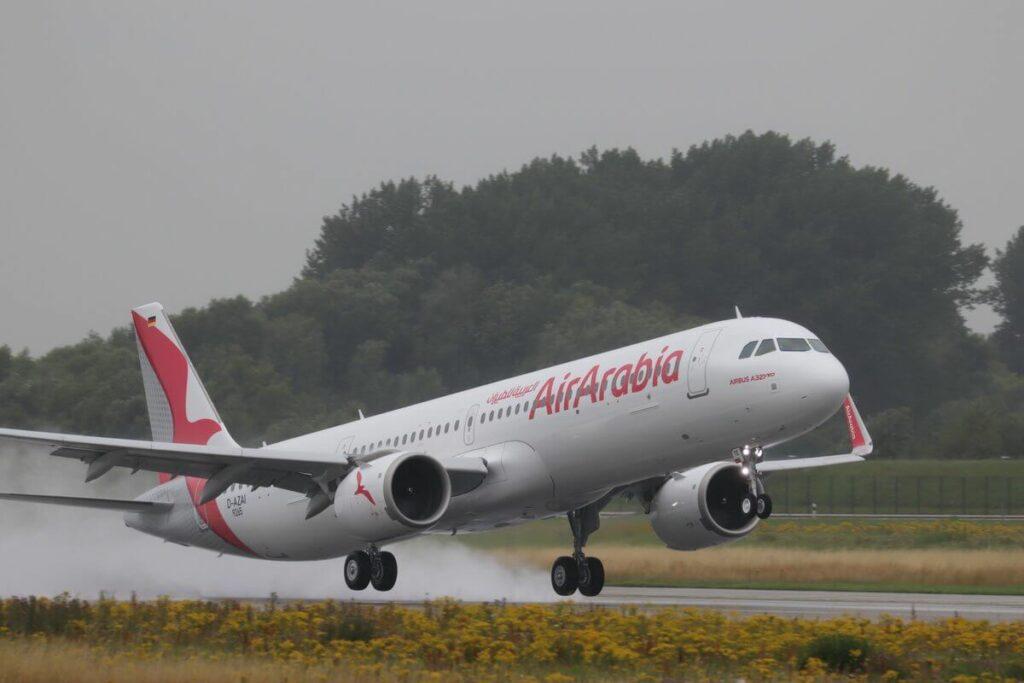 Air Arabia A6 ATE Airbus A321neo