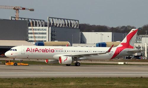 Air Arabia D AZAI A6 ATD MSN 9265 Airbus A 321 251NX